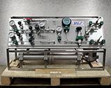 Компрессорная дожимающая установка для инертных газов