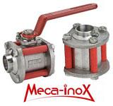 Открытие склада шаровых кранов и обратных клапанов французкой компании Meca-Inox.