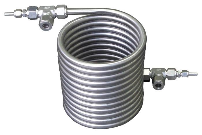 Теплообменник труба в трубе для бани своими руками