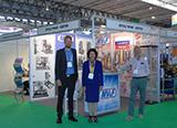 Стенд компании Мониторинг Вентиль и Фитинг (MV&F) на международной выставке Gastech-GPEX в Барселоне