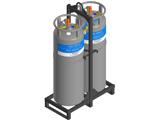Транспортные газификаторы холодные криогенные от компании МВиФ для лечения больных COVID-19